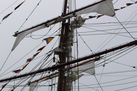 Up Aloft Among the Rigging!